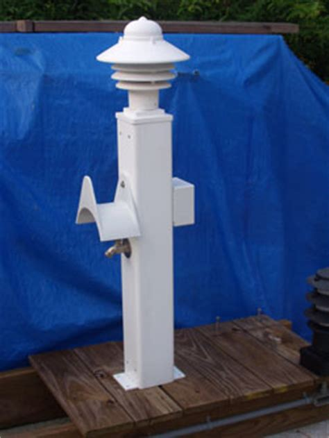 Marina Power Pedestals mac posts and power pedestals
