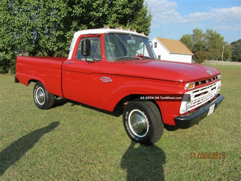 short bed truck cer 1966 ford f 100 short bed pickup