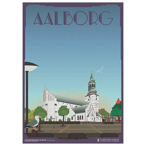 Plakat Aalborg by Aalborg Domkirke Plakat Plakatbrigaden
