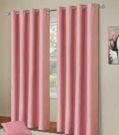 pink drapes plain baby pink colour thermal blackout bedroom livingroom