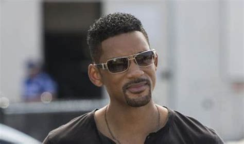 will smith haircut styles in focus will smith margot robbie new film focus interview films