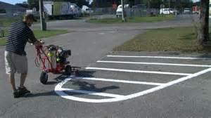 parking lot painting machine trueline striping machine t 2000 line painting parking