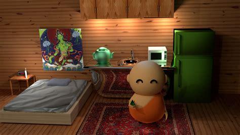 the monk room buddhist monk room by chrisdrummond on deviantart