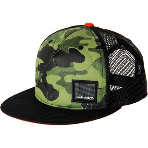skullcandy camo trucker hat backcountry