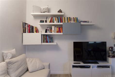 Stylish LACK and BESTA bookshelf   IKEA Hackers