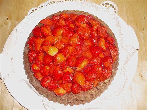 schoko erdbeer kuchen schoko erdbeer kuchen sandra chefkoch de