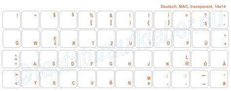 Tastatur Aufkleber Transparent by Hochwertige Tastaturaufkleber F 252 R Mac Tastatur