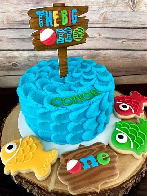 The Big One  Ee  First Ee    Ee  Birthday Ee   For  Ee  Boy Ee   Little Fisherman  Ee  Theme Ee