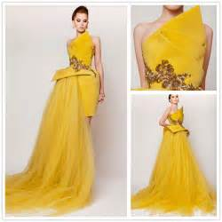 online buy wholesale yellow evening gown from china yellow