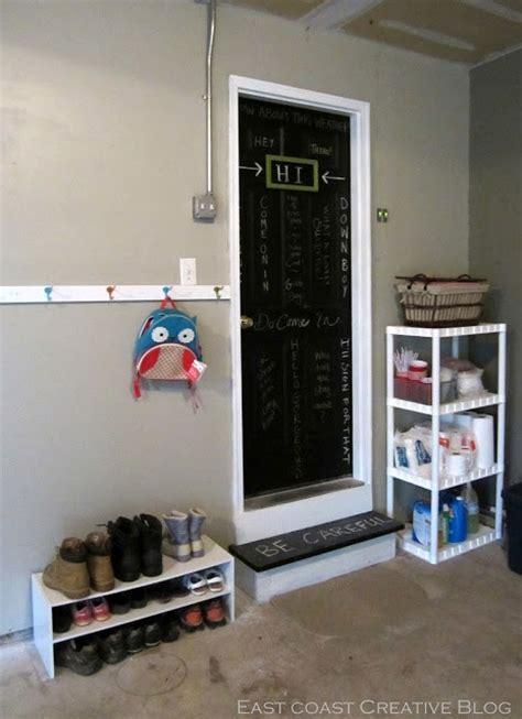 garage mudroom chalkboard door the doors board paint and house