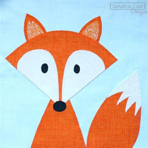 fox pattern pinterest fox applique pattern diy project ideas pinterest