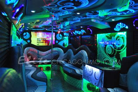 elite themed events inc elite chicago limo starry night party bus