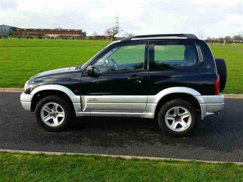Suzuki Vitara 3dr Suzuki 2003 Grand Vitara 3dr 1 6 16v Se Black 4x4 Car For