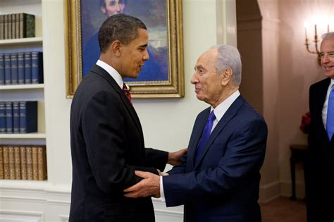 president obama oval office shimon peres last founding father of israel dies at 93