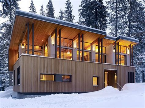 modern cabin mountain home plans modern cabins modern mountain home