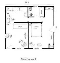 Bunkhouse Trailer Floor Plans by House Floor Plans Bunkhouse Bunkhouse Plans 10 X 10