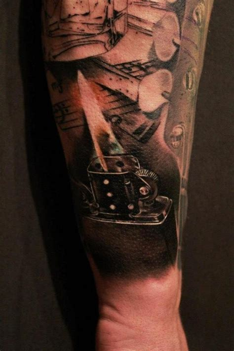 music themed tattoos designs themed sleeve by silvio vukadin tattoos
