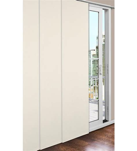 Sliding Panel Track Blinds Patio Doors Best 25 Panel Blinds Ideas On Sliding Panel