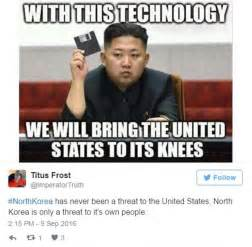 Meme Korea - north korea s kim jong un s latest nuke test mocked on