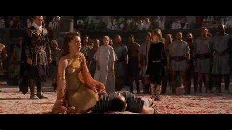 gladiator film length gladiator maximus death scene youtube
