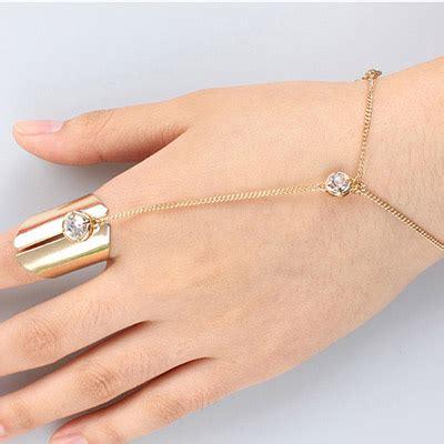 Gelang Fashion Pendant Decorated Simple Design Raafef popular gold color decorated simple design