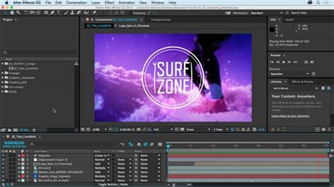 tutorial after effect cc 2015 getting started with after effects cc 2015 lynda com