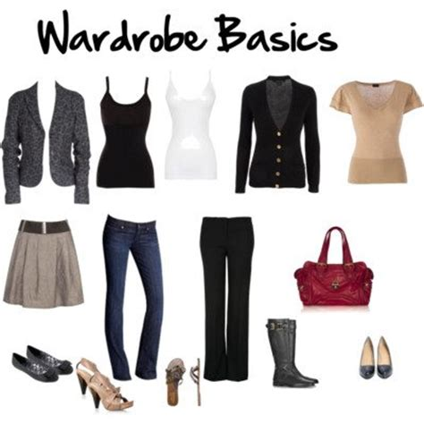 S Wardrobe Basics by Wardrobe Basics Or Supporting Acts Inside Out Style
