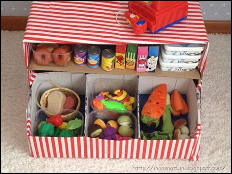 banco gioco bambini giochi fai da te come costruire un banchetto mercato