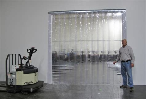 Plastic Strip Curtains Ribbed Strip Doors On Sale