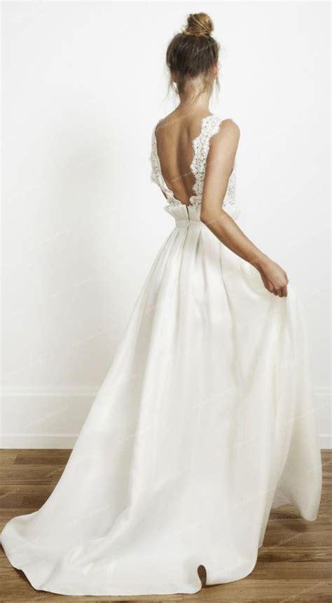 Best 25  Backless wedding dresses ideas on Pinterest