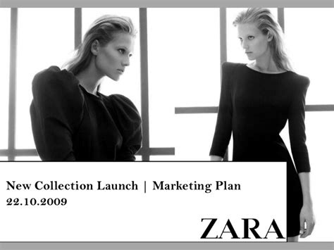 Zara Marketing Caign Design Zara Ppt Template