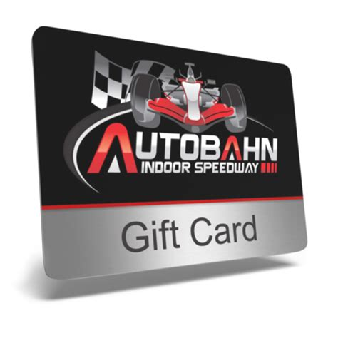 Speedway Gift Cards - gift card green light autobahn indoor speedway