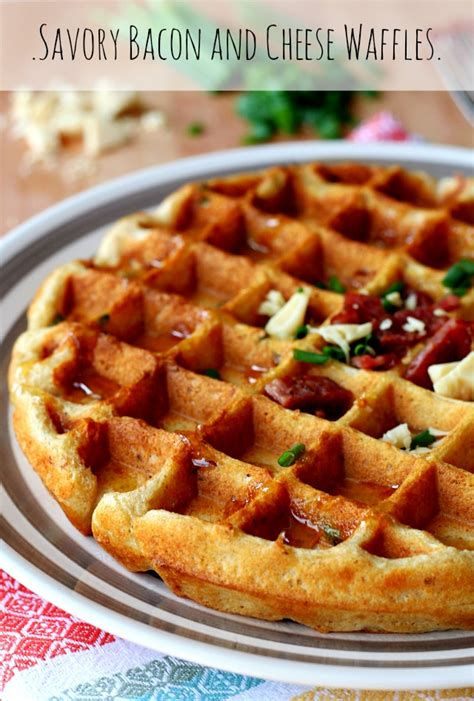 the belgian waffle cookbook sweet and savory belgian waffle recipe for every morning books savory bacon and cheese waffles s cravings
