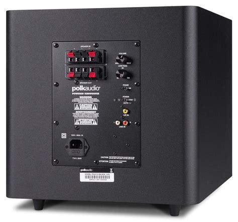 polk audio t sub bookshelf system t30 t15 psw110