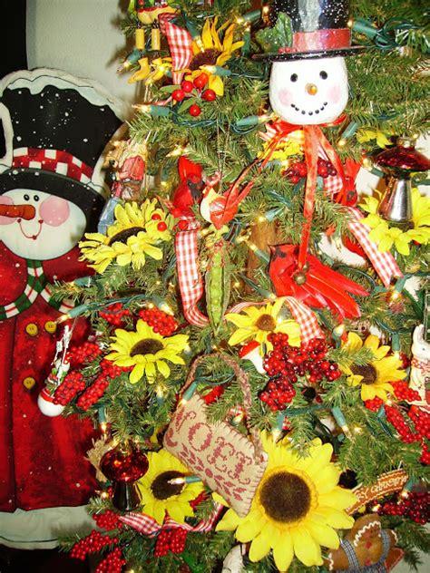 sharing with sherri sunflower christmas tree