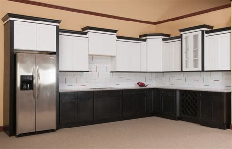 Kitchen Cabinet Finishing shaker kitchen cabinets crown molding make your own
