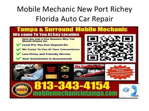 mobile auto car repair mechanic new port richey florida