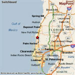 where is tarpon springs florida map tarpon springs florida