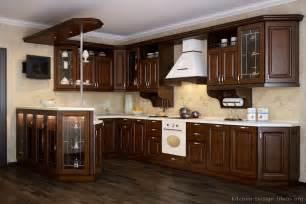 Kitchen Cabinets Dark Wood Pictures Of Kitchens Traditional Dark Wood Kitchens