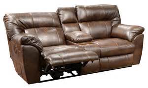 catnapper nolan wide console loveseat recliner