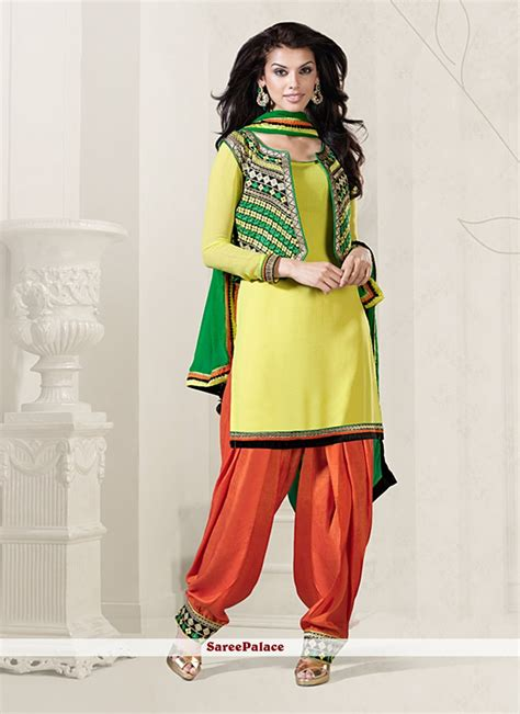 design of jacket salwar suit exclusive punjabi style salwar suit designs ideas with
