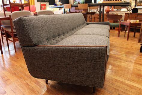 mid century modern grey sofa vintage mid century modern sofa vintage mid century modern