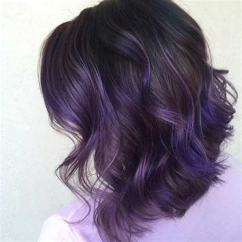 hairstyles with blonde and purple highlights 21 looks that will make you crazy for purple hair purple