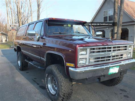 Toyota 3 4 Ton Truck 1988 V20 4x4 3 4 Ton Suburban