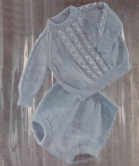 pattern baby jumper pdf knitting pattern baby boys jumper and pants to by