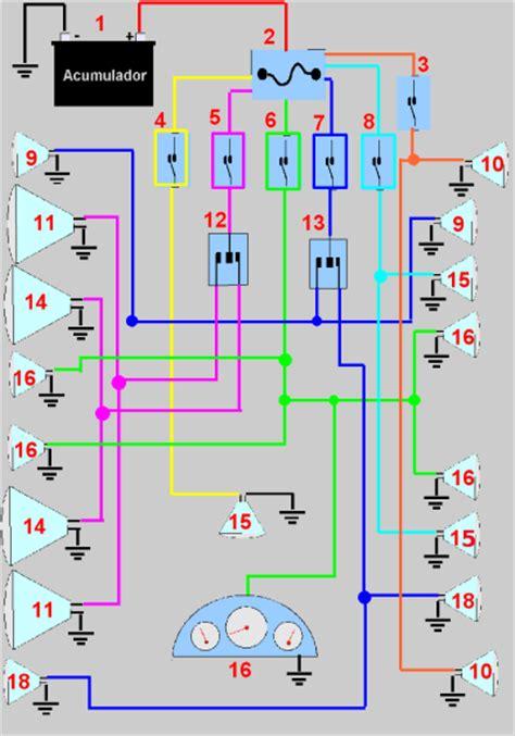 lada al neon manteniento de motores diesel sistema de iluminacion