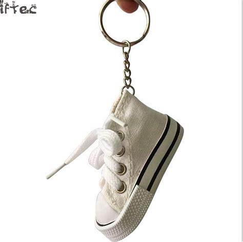 sneaker key chains aliexpress buy iftec 1pcs mini hi top canvas sneaker