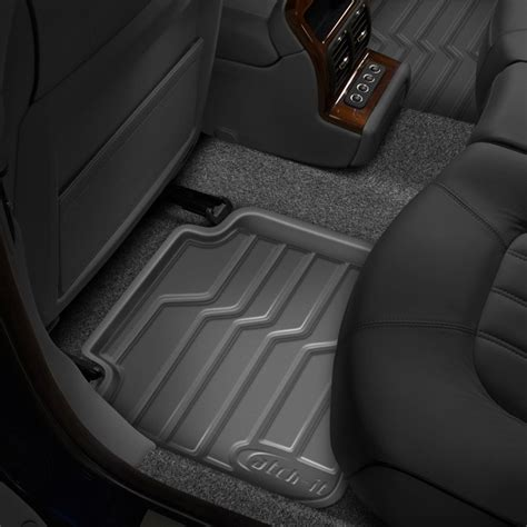 Catch It Floor Mats by Lund 174 383105 G Catch It Vinyl 2nd Row Gray Floor Liners