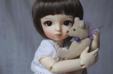 wallpaper cute doll baby toys doll baby short hair girl beautiful brown eyes cute