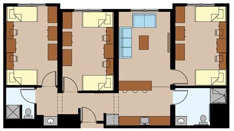 college dorm floor plans dorm suite dorms apartments pinterest dorm college